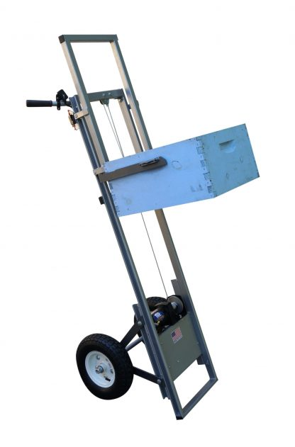electric beekeeping cart lift beehivelifters
