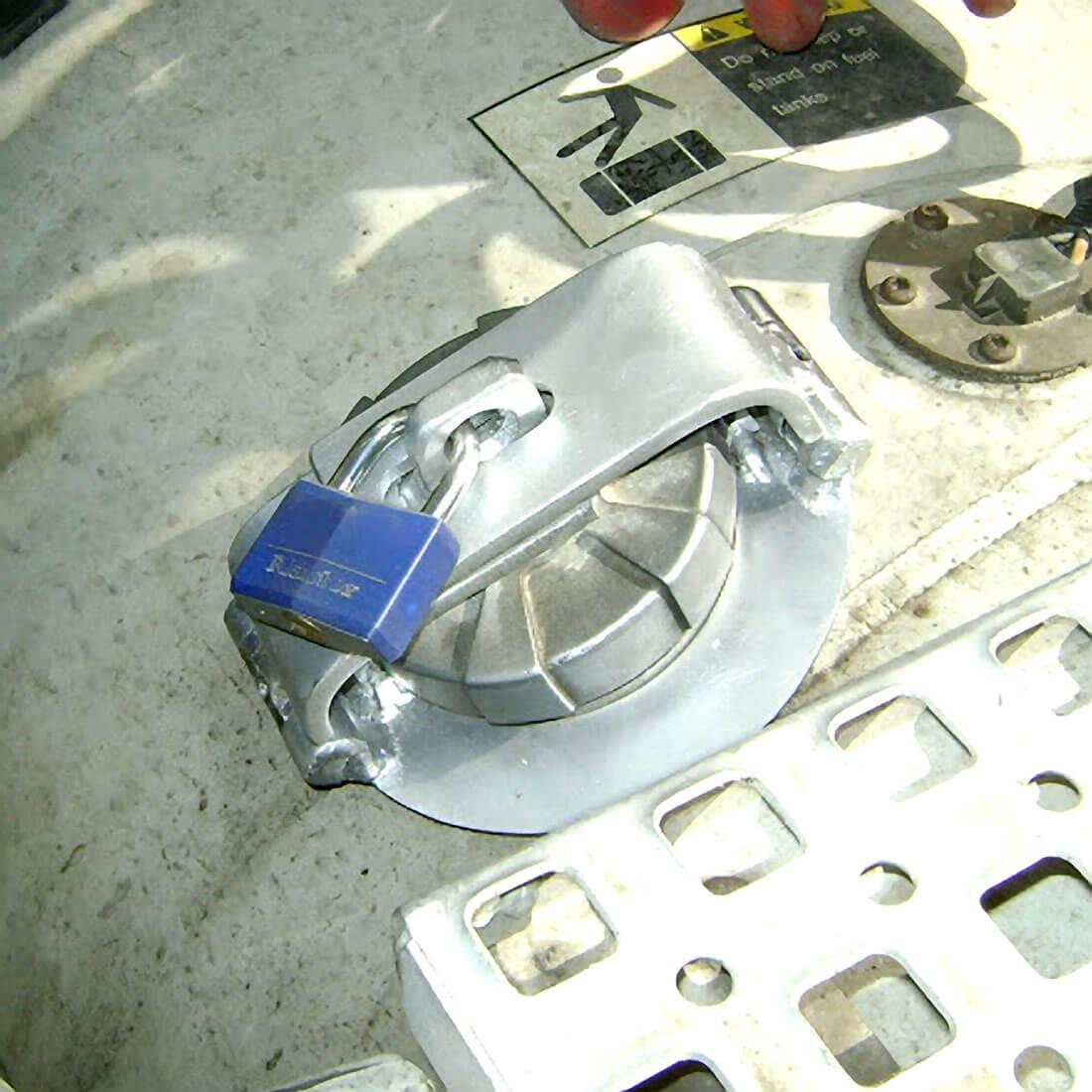 semi truck lock on guard diesel guard